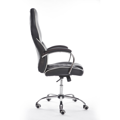 Executive Headrest Leather Modern Chair Image 3