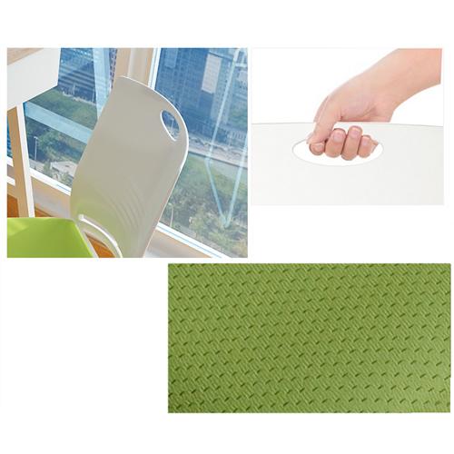 Wilkhahn Stackable Backrest Chair Image 17