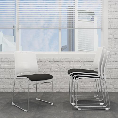Wilkhahn Stackable Backrest Chair Image 3