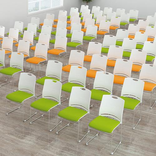 Wilkhahn Stackable Backrest Chair Image 4