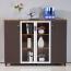 Wooden Cupboard Storage Cabinet Image 1