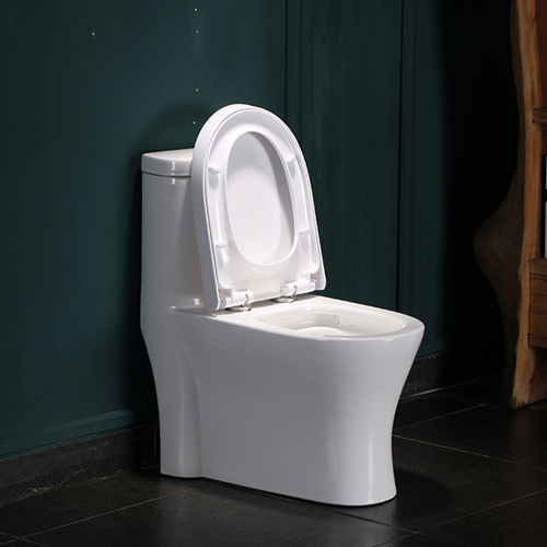 Coupled Ceramic Toilet with Soft Close Seat