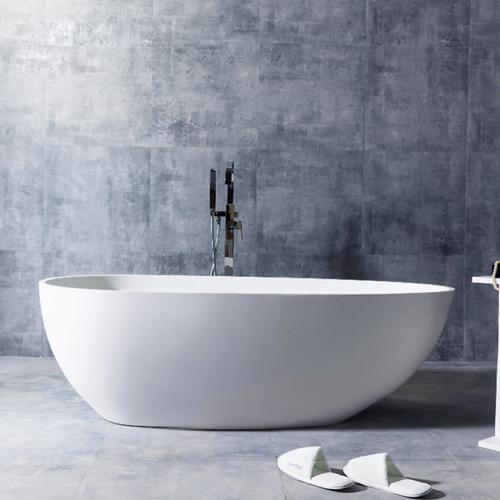 Egg Shell Shape Free-Standing Bathtub