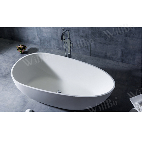 Egg Shell Shape Free-Standing Bathtub