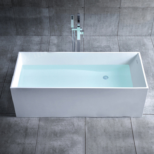 Ethas Rectangular Freestanding Bathtub