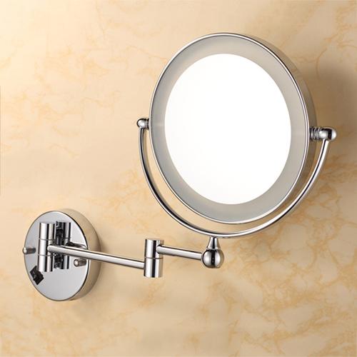Retractable Bathroom Wall Mount Mirror