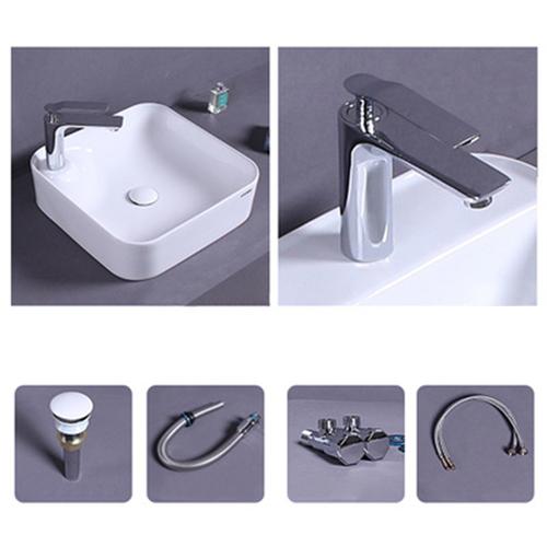 Metro Square Countertop Washbasin