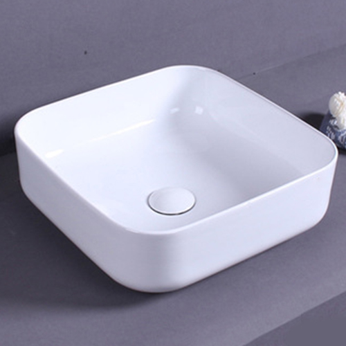 Ultra-Thin Square Counter Basin
