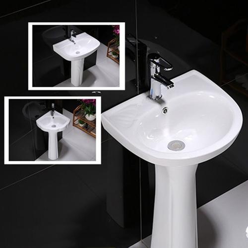 Zolar Ceramic Pedestal Wash Basin