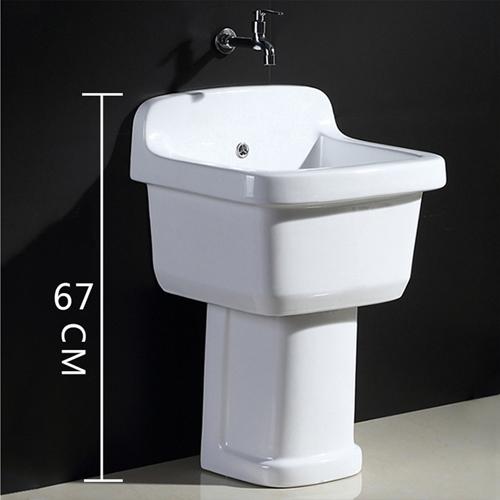 Pretty Ceramic Pedestal Mop Sink