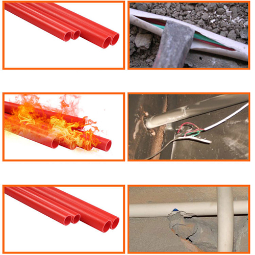 Flame Retardant PVC Insulated Tube