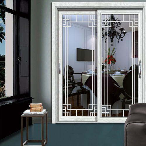 Grill Design Metal Sliding Door