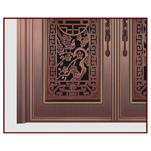 Stainless Steel Anti-Theft Double Door
