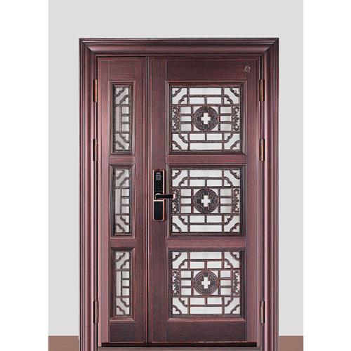 Spliced Cast Aluminum Entrance Door