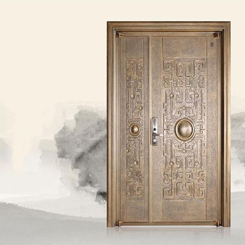 Probol Axis Hinged Aluminum Security Door