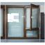 Contemporary Three-Glass Flat Window