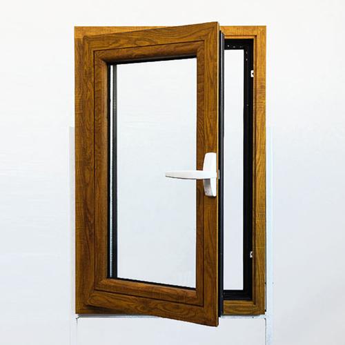 Clad Wooden Flat Open Window