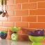 Glazed Bread Brick Kitchen Wall Tiles