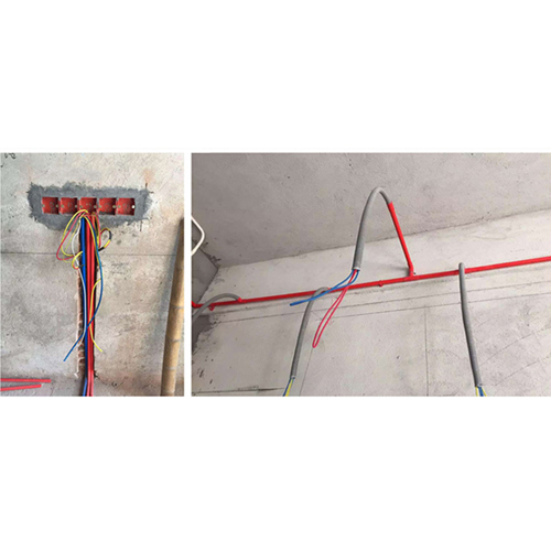 Electrical 4 Points Threading PVC Fitting