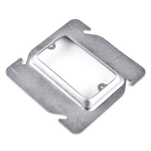 Galvanized Steel Square Device Box Cover