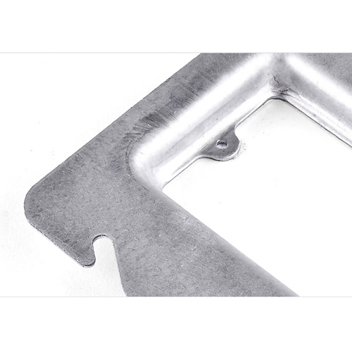 Galvanized Steel Square Device Box Cover