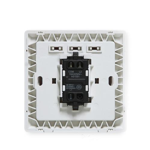 Single Open Double Control Switch Socket