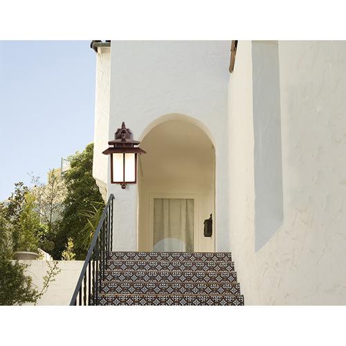 Garden Aluminum LED Solar Wall Light