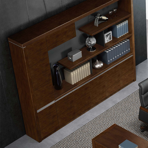 Multi-Function Bookcase Cabinet Image 1