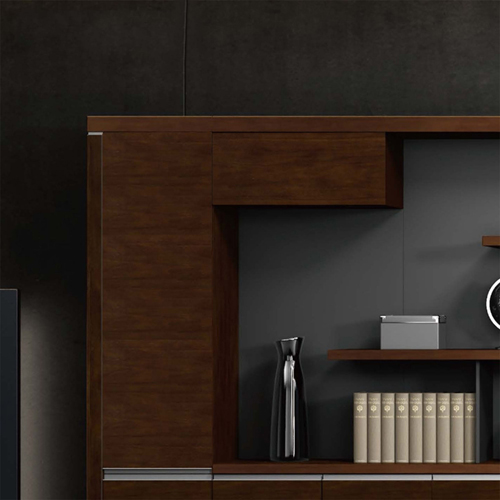 Multi-Function Bookcase Cabinet Image 3