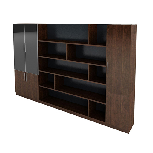 Corporate Wooden Large File Bookcase