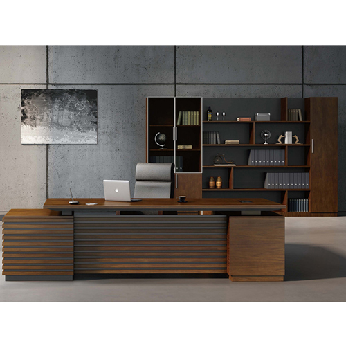 Corporate Wooden Large File Bookcase Image 2