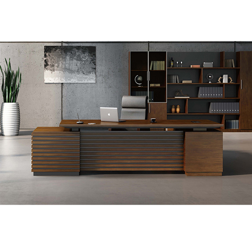 Corporate Wooden Large File Bookcase Image 4