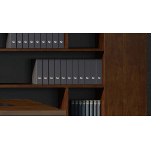Corporate Wooden Large File Bookcase Image 5
