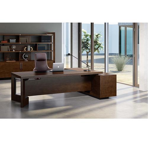 Stylish Walnut Filing Cabinet Bookcase Image 4