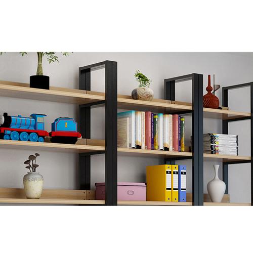 Steel Wood Shelf Rack Cabinet Image 10