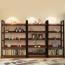 Steel Wood Shelf Display Bookshelf Image 13