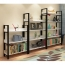 Steel Wood Shelf Display Bookshelf Image 18