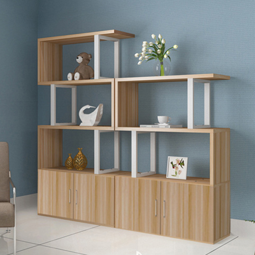 Creative Modern Steel Wood Bookshelf Image 10