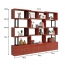 Creative Modern Steel Wood Bookshelf Image 16