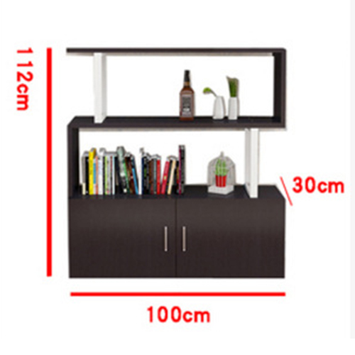 Creative Modern Steel Wood Bookshelf Image 18