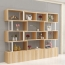 Creative Modern Steel Wood Bookshelf Image 4