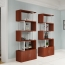 Creative Modern Steel Wood Bookshelf Image 8