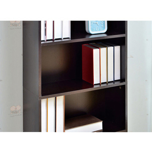 Wooden 6th Floor Plaid Storage Bookcase Image 18