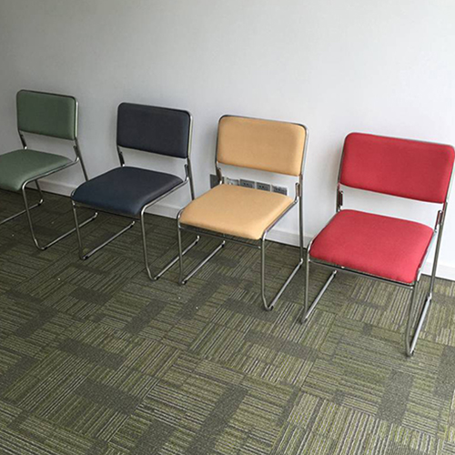 Multifunctional Conference Cloth Chair Image 22