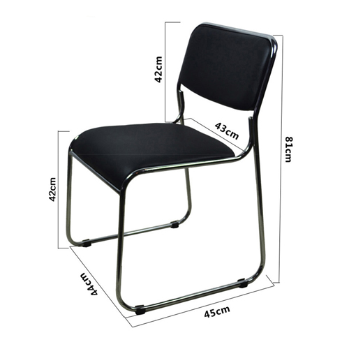 Multifunctional Conference Cloth Chair Image 24