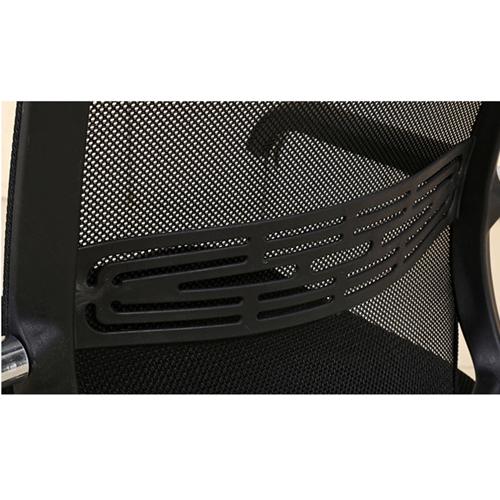 Chromium Mesh Backrest Armchair Image 10