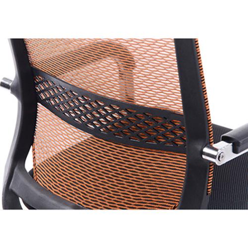 Chromium Mesh Backrest Armchair Image 12