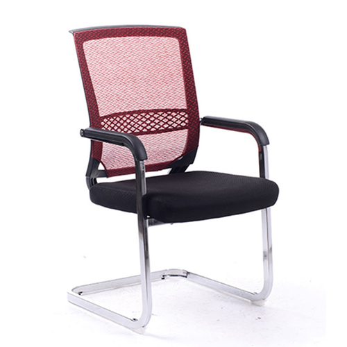 Chromium Mesh Backrest Armchair