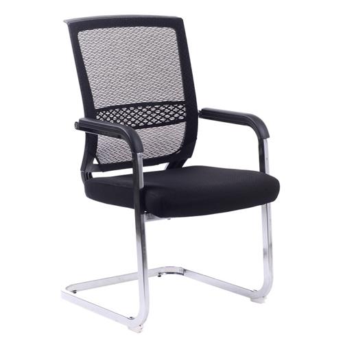 Chromium Mesh Backrest Armchair Image 1
