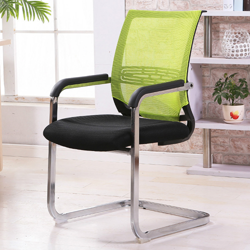 Chromium Mesh Backrest Armchair Image 2